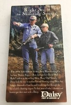 Daisy Instructional Video Tape VHS Right Start to Shooting Sports-TESTED... - $11.52