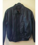 SANTA ANA STAR CASINO, ALBUQUERQUE, NM, MENS BLACK LEATHER JACKET, MEDIUM - $96.53