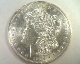 1904-O MORGAN SILVER DOLLAR UNCIRCULATED UNC. NICE ORIGINAL COIN FROM BOBS COINS image 1