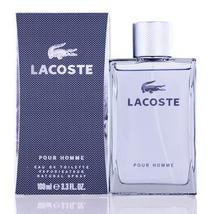 Lacoste Pour Homme by Lacoste Edt Spray (Grey) For Men - $28.99+