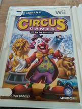 Nintendo Wii Circus Games: 20 Big Top Classics ~ COMPLETE image 2