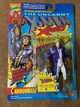 """Marvel Uncanny X-Men  5"""" X-Force Cannonball with Catapult Launching Action 1993 - $7.91"""