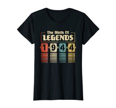 Funny Shirts - Retro The Birth Of Legend 1944 74th Birthday Gift 74 yrs old Wowe image 3