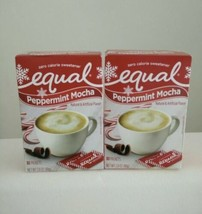 1 Peppermint Mocha Zero Calorie Sweetener by Equal 80 Packets & FREE SHI... - $10.39