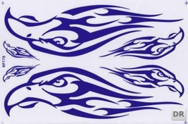 D263 Eagle Wing Bird Sticker Decal Racing Tuning Size 27x18 cm / 10x7 inch - $3.49