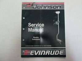 1988 Johnson Evinrude Electric Outboard Service Manual OEM Boat 507658 *** - $14.35