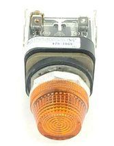 ALLEN BRADLEY 800T-Q24 PILOT LIGHT SER. T 24V, AMBER 800TQ24 image 4