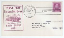 First Trip Highway Post Office Between Atlanta & Columbus 1950 Trip 2 HP... - $2.99