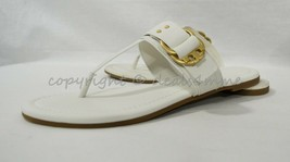 NWD Tory Burch Marsden Flat Thong Sandals in Ivory White US Wome'ns Size 7 OR 8 - $119.00