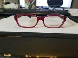 New Ralph Lauren Rl 6117 5478 Opalin Bordeaux Red Eyeglasses Frame 53-16-145 B34 - $43.56