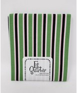 #142 Imported Fabric Central Fat Quarter 100% Cotton - New - Green, Blac... - $5.99