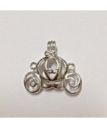 5pcs/lot 18KGP Carriage Locket Pumpkin Caravan Style Pearl Bead Locket P... - $11.21