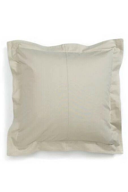 Tommy Hilfiger Euro Sham Modern Sands/ Chino(Biege) Cotton MSRP $85 - $33.94