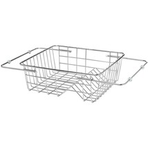 Kes Adjustable in Sink Drying Rack Over Dish Drainer SUS304 Stainless St... - $38.59