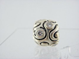 Pandora ALE Charm with White CZ in Sterling Silver - $38.22
