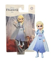 Disney Frozen II Elsa 4in Doll with Removable Cape 2 New in Package - $12.88