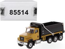 "CAT Caterpillar CT681 Dump Truck Yellow and Black ""High Line"" Series 1/87 (HO) - $46.52"