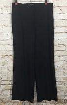 Nina Ricci 39 Avenue Montaigne Paris Pants Wool Silk Blue Women's US 4 Size 36 - $38.01