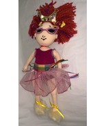 "Madame Alexander Fancy Nancy Cloth Plush Doll 18"" NWT 2008 Authentic Skirt - $39.59"