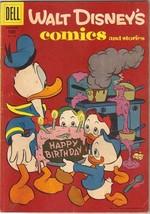 Walt Disney's Comics and Stories Comic Book #195, Dell Comics 1956 VERY ... - $16.39