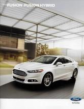 2013 Ford FUSION sales brochure catalog US 13 SE Titanium HYBRID - $8.00