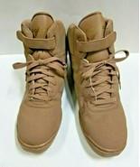 Capezio DS04A Women's Size 13M (Fits 12.5) Tan High Top Dance Sneakers - $29.69