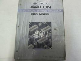 1998 Toyota Avalon Eléctrico Cableado Taller Tienda Manual Fábrica OEM - $24.71