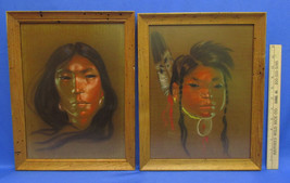 2 Nancy McLaughlin Powell Paintings Framed Nati... - $186.64