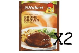Authentic St.Hubert Brown Gravy Mix 46g x 2 pouches - From Canada - $10.88