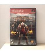 God Of War 2 Two Disc Set PS2 Playstation 2 Complete CIB Manual Near Min... - $12.59