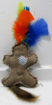 Squirrel Tail VooDoo Doll Cat Toy - £8.08 GBP