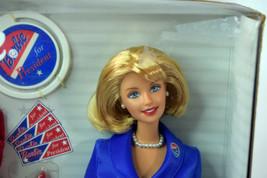 Mattel BARBIE Girls Blonde Doll NIB President 2000 Red Blue Dress White House image 2