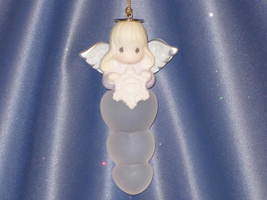 Precious Moments Angel Icicle with Snowflake Ornament by Enesco W/Box. - $10.00