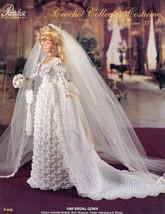 1889 Bridal Gown Paradise Volume vol 35 Barbie Doll Crochet PATTERN (NO ... - $3.57