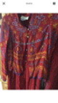 Rene Derby Collection Women's 2 Piece Tunic Jacket And Pants Size Medium  - $99.99