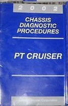 2002 CHRYSLER PT CRUISER Chassis Diagnostic Procedures Manual OEM Factory - $8.86