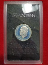 1971 S Ike Eisenhower Silver Dollar Proof Brown Box from the US Mint PR ... - $32.99