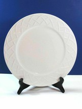 14 Oneida Picnic Embossed Basket Weave 7 5/8 Salad Plates Bundle of 14 - $53.35