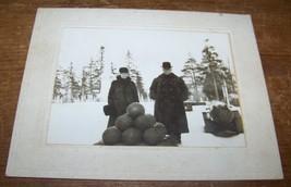 c1920 ANTIQUE SCHOHARIE NY FORT HUNTER CIVIL WAR VET CABINET PHOTO RAY D... - $14.84