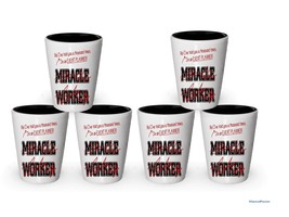 I'm an Event Planner shot glass- Not a Miracle Worker -Event Planner Gifts (6) - $29.35