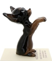 Hagen-Renaker Miniature Ceramic Dog Figurine Chihuahua Pedigree Pup Black