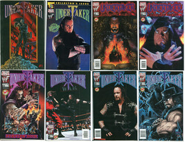 Undertaker Ultimate Comic Lot w/ Dynamic Forces Ltd to 500 Deathchrome C... - $189.00