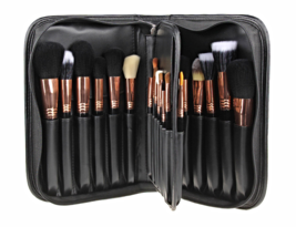 Makeup Artist Brushes 29pcs Complete Copper Luxury Makeup Brush Set with Case - $310.00