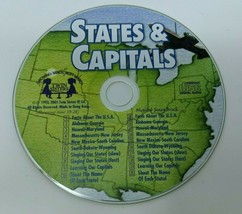 States & Capitals (CD, 20 Tracks, 1993) *Disc Only*, Growing Minds With ... - $8.90