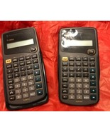 Texas Instrument TI-30Xa Scientific Calculator Lot Of 2 (Tested & Works). 2 - $8.79