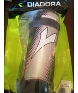 Diadora Soccer Shinguards Size L Black/Grey/Pink 160-180 cm 5'3-5'11 inc... - $34.23