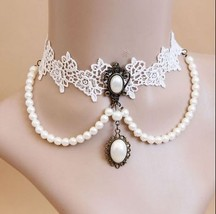 << White Lace Classy Choker Necklace >> We Combine Shipping (43 - $4.95