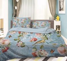 3D Flowers 204 Bed Pillowcases Quilt Duvet Cover Set Single Queen King Size AU - $90.04+