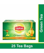 Lipton Honey Lemon Green Tea Bags ( 25 piece tea bag ) - $9.49