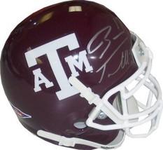 Ryan Tannehill signed Texas A&M Aggies Authentic Schutt Mini Helmet - $109.95